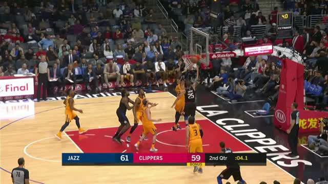 Utah Jazz berhasil kalahkan Los Angeles Clippers dengan skor 126-107.
