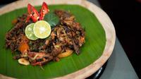 Ubud Food Festival 2018 kembali digelar dengan beragam kreasi makanan (Liputan6/pool/Ubud Food Festival 2018