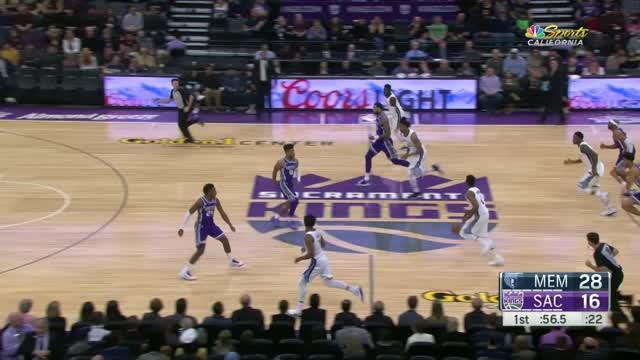 Berita video game recap NBA 2017-2018 antara Memphis Grizzlies melawan Sacramento Kings dengan skor 114-96.