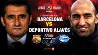 Barcelona vs Deportivo Alaves (Liputan6.com/Abdillah)
