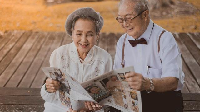 Pasangan lansia Chen dan Shen