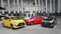 New Toyota Agya mengalami penyegaran cukup signifikan. (Septian/Liputan6.com)