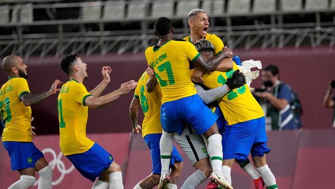 prediksi final sepak bola olimpiade tokyo 2020 brasil vs spanyol: partai penentuan demi medali emas