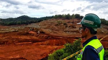 Lokasi Tambang Nikel dan Smelter Nikel PT Antam Tbk di Pomalaa, Sulawesi Tenggara (Dok Foto: Liputan6.com/Pebrianto Eko Wicaksono)