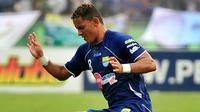 Marcio Souza, mantan striker Persib Bandung ditangkap kepolisian Brasil dalam kasus pengaturan skor. (Istimewa)