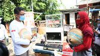 Srikandi Tani Kampung Becek Ajak Warga Tanam Hidroponik