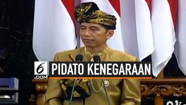 Prinsip lambat asal selamat sudah tidak lagi relevan menurut Presiden Joko Widodo dalam pidato kenegaraan yang disampaikan hari Jumat (16/8/2019).