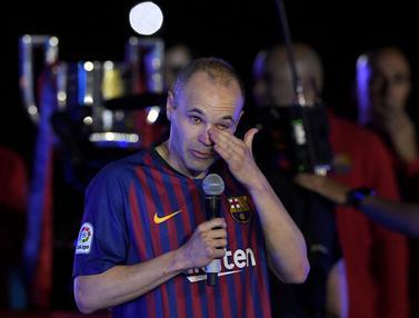 Foto Trivia: 6 Legenda Barcelona yang Tinggalkan Klub dengan Status Bebas Transfer, Akankah Messi Alami Hal yang Sama?