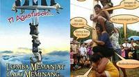 7 Meme Panjat Pinang Ini Sukses Bikin Senyum Nyengir (sumber: twitter.com/fianstory46 & twitter.com/cakdancuk)