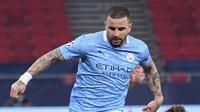 Pemain Manchester City Kyle Walker (AFP/Peter Powell)