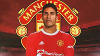 Manchester United - Ilustrasi Raphael Varane (Bola.com/Adreanus Titus)