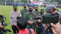 Pangdam IX/Udayana Mayor Jenderal TNI Maruli Simanjuntak memuji kekompakan prajurit TNI dan personel Polri di Nusa Tenggara Barat (NTB). (Istimewa)