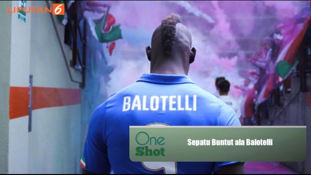 Balotelli diketahui merupakan brand ambassador dari apparel Puma. Pemain berusia 25 tahun ini merilis sepatu Puma evoPower untuk anak-anak. Seperti apa uniknya sepatu tersebut? Simak di sini