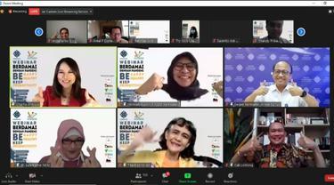 Kemnaker Gelar Webinar Berdamai dengan Pandemi