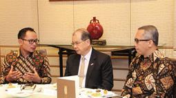 Menteri Ketenagakerjaan M Hanif Dhakiri melakukan pertemuan bilateral dengan pejabat ketenagakerjaan Hongkong membahas permasalahan TKI