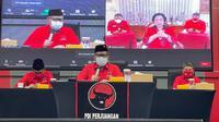 Sekjen PDIP Hasto Kristiyanto pembukaan kegiatan Sekolah Partai Pendidikan untuk Kader Madya PDIP. (Foto: Dokumentasi PDIP)