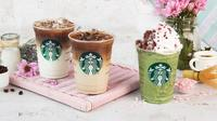 Art in A Cup Starbucks musim semi. (dok. Starbucks Indonesia)