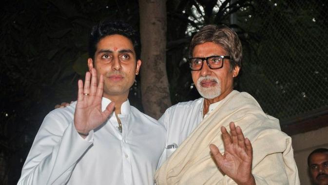 Putra Amitabh Bachchan, Abhishek Bachchan Juga Positif Corona Covid-19