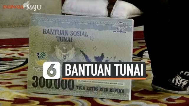 Senin (4/1) siang Presiden Joko Widodo dan sejumlah menteri meluncurkan bantuan sosial tunai. Menteri Sosial Tri Rismaharina sampaikan jumlah serta mekanisme bantuan tersebut sampai pada warga.