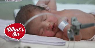 Aurel Hermansyah pun terlihat sangat bahagia dengan kelahiran adik barunya, Arsya Akbar Pemuda Hermansyah.
