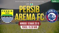 Persib Bandung Vs Arema FC (Bola.com/Adreanus Titus)