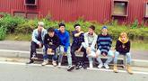 iKON merupakan boygroup dibawah naungan YG Entertainment yang debut tahun 2015 lalu. Memiliki jumlah personel 7 orang, iKON menjadi boygroup yang sukses di industri musik K-POP (Liputan6.com/Instagram/@withikonic)