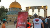 Aparat keamanan Israel pada Ramadhan tahun 2018, melarang keras untuk berbagai bentuk bantuan dari Indonesia masuk ke kota Yerusalem (KBRI Amman)