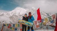 Potret perjuangan Nikita Willy mencapai Annapurna, Himalaya, Nepal. (Sumber: Instagram @nikitawillyofficial94)