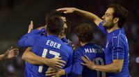 Belgia vs Italia (REUTERS/Eric Vidal)