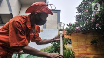 FOTO: Melihat Alat Pendeteksi Curah Hujan untuk Antisipasi Banjir