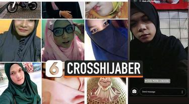Media sosial tengah dihebohkan dengan adanya kelompok crosshijaber. Crosshijaber adalah pria yang suka memakai baju muslim.