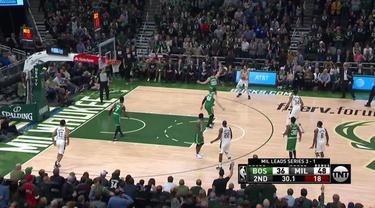 Giannis Antetokounmpo memimpin Bucks dengan 20 poin, 8 rebound dan 8 asis untuk melewati Celtics dan menuju final Wilayah Timur.