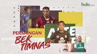 Persaingan Bek Timnas Indonesia. (Bola.com/Dody Iryawan)