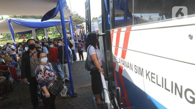 Catat, Ini Lokasi Pelayanan SIM Keliling di Jakarta - Otomotif ...
