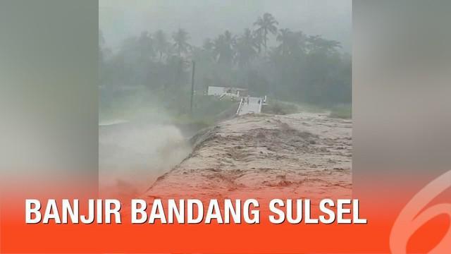 Banjir bandang yang melanda beberapa wilayah di Sulawesi Selatan menyebabkan kerugian baik secara material dan imaterial. Gubernur Sulses, Nurdin Abdullah mengungkap besar kerugiannya.