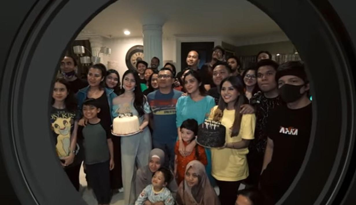 Aurel Hermansyah Ultah ke-22 (Youtube/The Hermansyah A6)