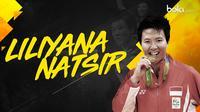 Liliyana Natsir, pebulutangkis Indonesia. (Bola.com/Dody Iryawan)