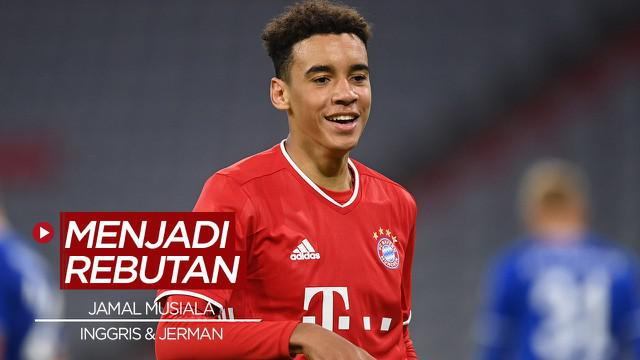 Berita video, wonderkid Bayern Munchen, Jamal Musiala yang diperebutkan Timnas Inggris dan Timnas Jerman