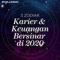 Karier dan Keuangan 3 Zodiak ini Bersinar di Tahun 2020
