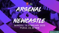 Premier League - Arsenal Vs Newcastle United (Bola.com/Adreanus Titus)