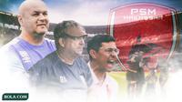 Pelatih PSM Makassar (Bola.com/Adreanus Titus)