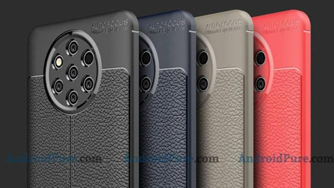 Tampilan belakang Nokia 9 PureView. (Doc: AndroidPure)