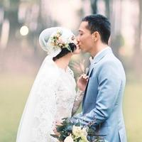 Andien bersama suami (Instagram/andienaisyah)