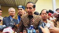 Presiden Jokowi membuka Kongres XXXVI Gerakan Mahasiswa Kristen Indonesia (GMKI). (Merdeka.com/ Titin Supriatin)