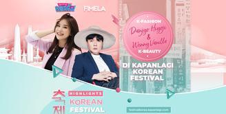Seperti apa keseruan sesi sharing Hiyoji dan Wenny Vanilla di KapanLagi Korean Festival? Yuk, cek di video hilight