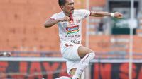 Bek Persija, Ismed Sofyan saat merayakan gol ke gawang Borneo FC pada leg kedua semifinal Piala Indonesia. (Istimewa)