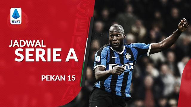 Berita video jadwal Serie A 2019-2020 pekan ke-15. Inter Milan hadapi AS ROma di Stadion Giuseppe Meazza, Milan, Santu (7/12/2019).