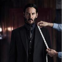 Keanu Reeves di film John Wick: Chapter 2. foto: THR