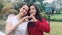 Felicya Angelista dan Mieke Amalia (Sumber: Instagram/felicyangelista_)