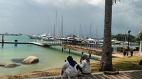 Kawasan Nongsa Point di Batam yang akan memberlakukan travel corridor arrangement. (Liputan6.com/Dinny Mutiah)